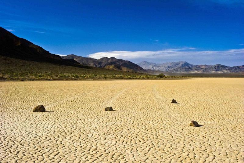 Самое жаркое место в мире - Национальном парке Долины Смерти.